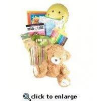 Wholesale Get Well Gift For Kids |Get Well Giftbasket Chidren | Get well gift with reading material teddy bear from china suppliers