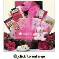 Wholesale Breast Cancer Awareness Gift Basket For The Cure from china suppliers