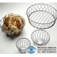 Wholesale Metal bread basket from china suppliers