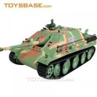 Wholesale RC Toy Tank - Airsoft German Jagdpanther 1:16 Radio Control Battle Tank with BB Bullets from china suppliers