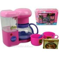 Electrical Toy - Battery Operated Toy Coffee Set with light 3137-2 for sale