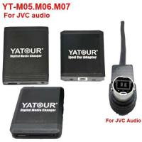 Wholesale YT-M05.06.07 for aftermarket Car audio Yatour Music and Bluetooth Car kit for JVC audio(YT-JVC) from china suppliers