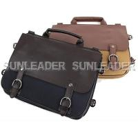 Wholesale 102205-Faux-leather trim tote from china suppliers