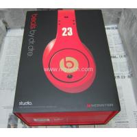 Quality Monster Beats by Dr Dre Studio Lebron James Limited Edition Headphones (Grade A) for sale