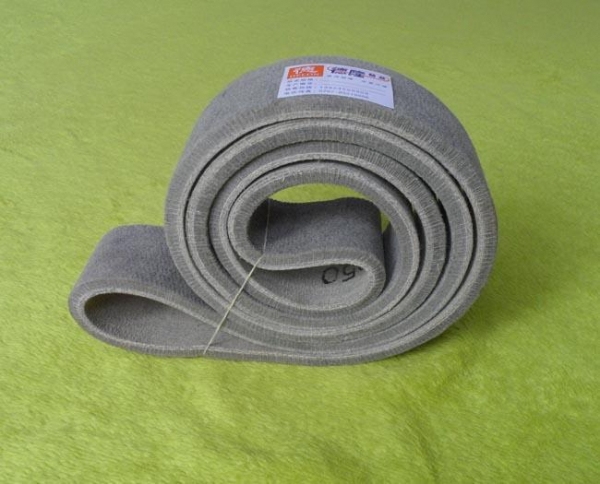 Quality Green high temperature felt belt for sale