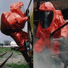 Quality Gas-tight Chemical Protective Suit for sale