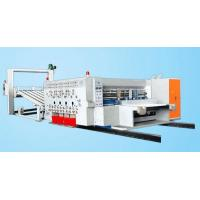 Wholesale Learn More SYKM 950/SYKM4212 high speed flexo printing and slotting die cutting machine from china suppliers