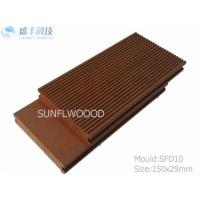 China Decking solid WPC decking solid WPC decking on sale