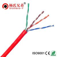 China OFC 0.51mm cat5e lan ethernet cable for sale