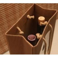 Wholesale Durable kraft paper of wine packing bag from china suppliers