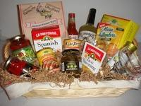Buy cheap Custom Gift Basket Ideas Mexican Fiesta Basket from wholesalers