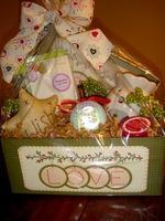Buy cheap Custom Gift Basket Ideas Warm and Cozy Gift Box from wholesalers