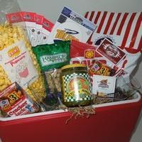 Buy cheap Custom Gift Basket Ideas Enjoy the Game Cooler from wholesalers
