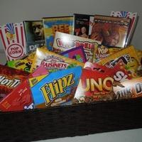 Wholesale Custom Gift Basket Ideas Movie Night Gift Basket from china suppliers