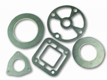 Quality Reinforced Flexible Graphite Composite gaskets for sale