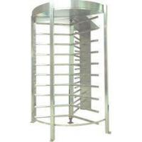 RS232 IC Cards Full Height Turnstile with Door Access Control for Office Building CE OEM