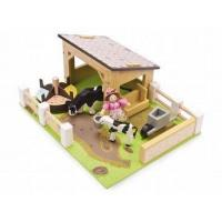 Wholesale Farms Le Toy Van Budkins Yellow Barn from china suppliers
