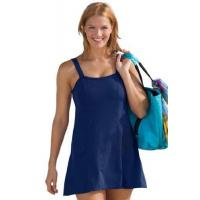 Wholesale Woman Within Plus Size Slimming Swimdress By Swim365 (Indigo,24 W) from china suppliers