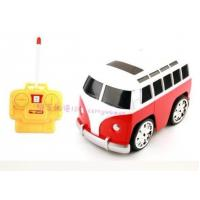Vehicle Toys 4 Channel Mini Scale Cartoon Yellow / Red RC Bus Toy