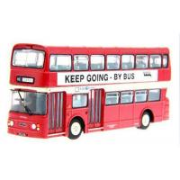 Wholesale Vehicle Toys Red 1:76 Scale London Double Decker Bus Model from china suppliers