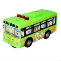 Wholesale Vehicle Toys Cartoon Figures Theme Kids Green School Bus from china suppliers