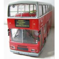 Wholesale Vehicle Toys 1:76 Scale Red Alloy Made London Double Decker Bus Model from china suppliers
