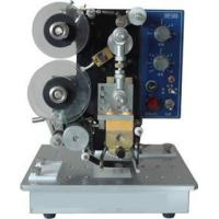 China electric hot stamp printers on bag/card/box on sale
