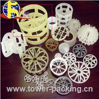 China Plastic Tower Packing Plastic tower packing(Pall ring,Intalox saddle,Cascade ring,Raschig ring) on sale