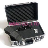 China 4mm MDF Fireproof Aluminum Carrying Cases , Black Aluminum Camera Cases on sale
