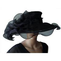 Wholesale Organza Hats For Women in Black P7075827 from china suppliers