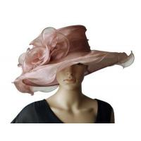 Wholesale Organza Hats For Women in Mauve P7075782 from china suppliers