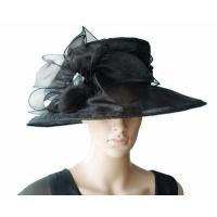 Wholesale Organza Hats For Women in Black PB130321 from china suppliers