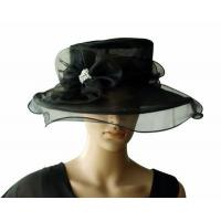 Wholesale Organza Hats For Women in Black PB130418 from china suppliers