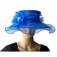 Wholesale Organza Hats For Women in Blue PB130399 from china suppliers
