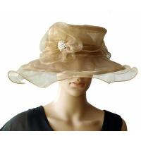 Wholesale Organza Hats For Women in Champagne PB130412 from china suppliers