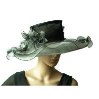 Wholesale Organza Hats For Women in Black and White H856 from china suppliers