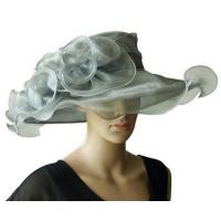 Wholesale Organza Hats For Women in Grey P7075820 from china suppliers