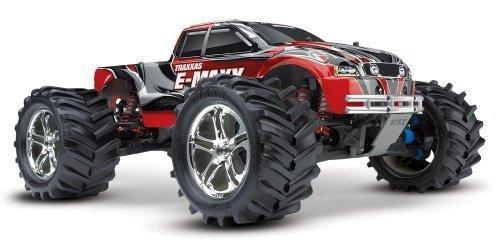China Traxxas RTR 1/10 Monster E-Maxx Brushed 2.4GHz with 2 7-Cell Batteries by HRPA - Traxxas