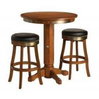 Wholesale Arcade Games HARLEY DAVIDSON BAR & SHIELD FLAMES WOOD PUB TABLE WITH 2 STOOLS from china suppliers