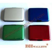 Hard Shell Card Case Aluminum Wallet