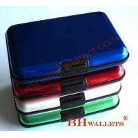 Wholesale Security Promotion Aluminum Card Wallet from china suppliers