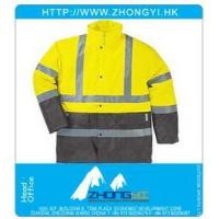 Wholesale High Visibility Clothing High Visiblity Polyester Coated PU & PVC Parka from china suppliers