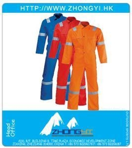 Quality Industrial Workwear Flame Retardant Overall for sale
