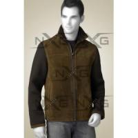 Two Tone Suede Leather Jacket