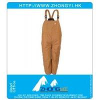 Buy cheap Industrial Workwear Insulated Bib Over from wholesalers