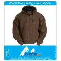 Wholesale Work Clothing Washed Hooded Jacket from china suppliers