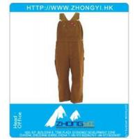 Wholesale Work Clothing Cotton Duck Bib Overalls from china suppliers