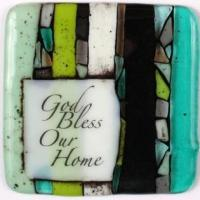 China Word Tiles God Bless Our Home on sale