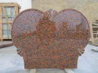 Russian Red Granite Tombstone for sale
