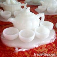 Chinese Natural Jade Tea Sets for sale